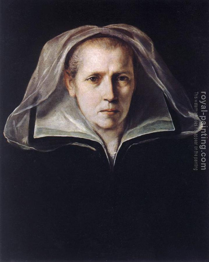 Guido Reni : Portrait of the Artists Mother